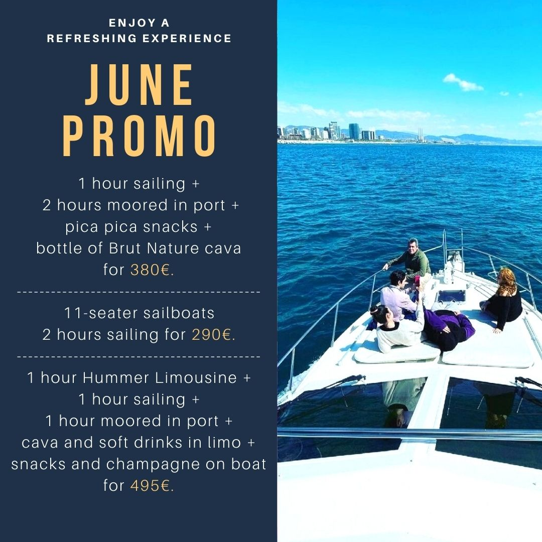 June Promotions   Rent a private boat   Boat Experience