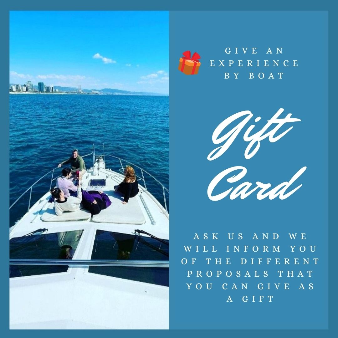 Boat Experience Barcelona | Gift Card